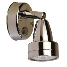 * LAMPKA BREST CHROM 12V LED