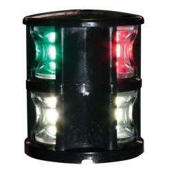 LAMPA NAWIGACYJNA FOS LED 12 TRICOLOR AND ANCHOR BLACK