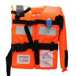 KAMIZELKA BUOYANCY AID SOLAS 150N 43-140KG W/ LIGHT