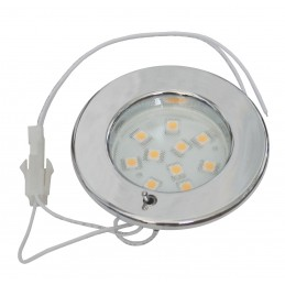 LAMPA LED PINTO SMD CHROM 8-30V, SWITCH