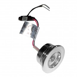 LAMPKA LED 10/30V D32mm CHB...