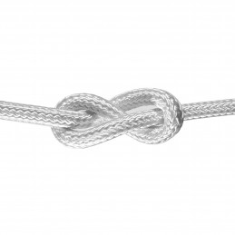 LINA XM POLYESTER FLEXIBLE BRAIDED WH 14MM