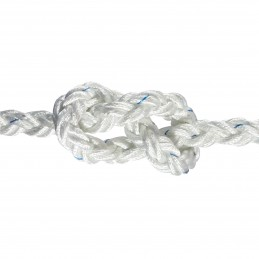 LINA XM POLYESTER OCTOPLAIT WHITE 12MM