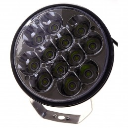 REFLEKTOR LED, 10-32V, 36W, IP67, CZARNY, 110X60X56MM