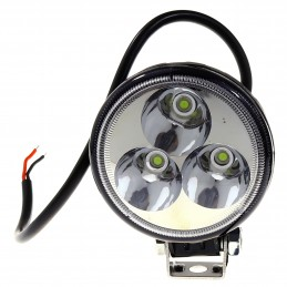 REFLEKTOR LED, 10-32V, 9W, 7100LM, IP67, 80X80X45MM