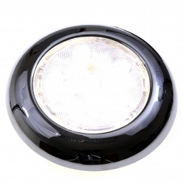 LAMPKA KABINOWA LED, 12V-24V, 180LM, D100MM