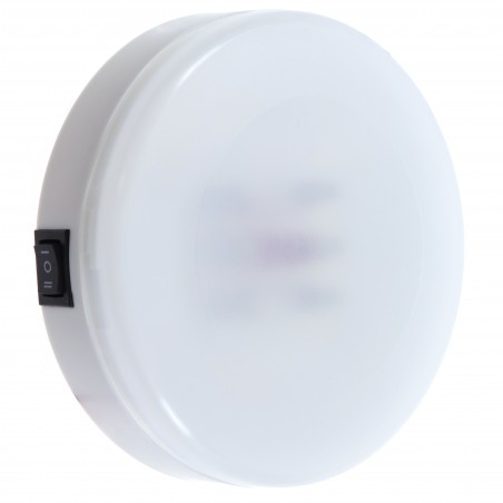 LAMPA KABINOWA DOME 3 SWITCH WHITE/RED/OFF 12V- 5W