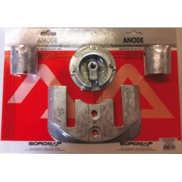 ANODA MERCURY / MERCRUISER BRAVO ONE KIT