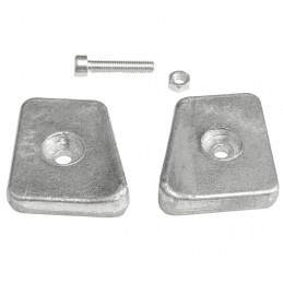 ANODA JOHNSON-EVINRUDE-OMC DOUBLE WEDGE AFTER 90 434029