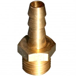 "KRÓCIEC BRASS M 1/4"" X 10MM"