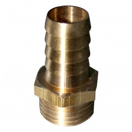 "* KRÓCIEC BRASS M 1/2"" X 10MM"