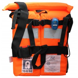 KAMIZELKA BUOYANCY AID SOLAS 150N 15-43KG W/ LIGHT