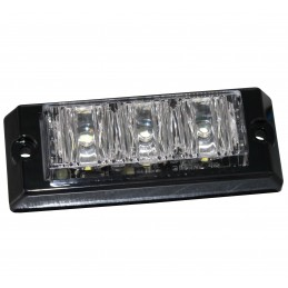 LAMPKA LED 12V 0,5A X 3LED MODEL PY-9400 CZARNA