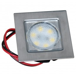 LAMPA LED VEGA 48 SQUARE SMD, 12V, IP66