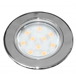 LAMPA LED VEGA 75 CHROM SMD, IP66, 8-30V, 2W, 140LM