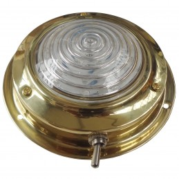 "LAMPKA KABINOWA BRASS 3"" LED"